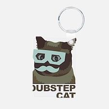Dubstep Cat Keychains