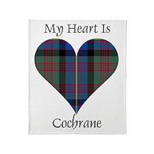 Heart - Cochrane Throw Blanket