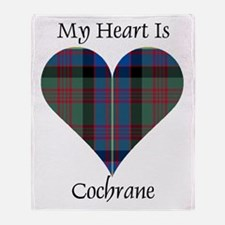 Heart - Cochrane Throw Blanket