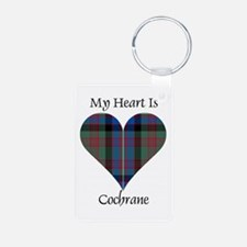 Heart - Cochrane Aluminum Photo Keychain