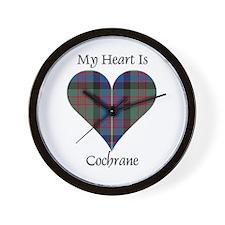 Heart - Cochrane Wall Clock