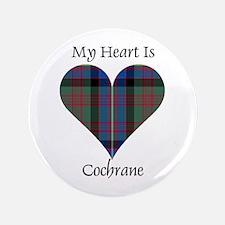 """Heart - Cochrane 3.5"""" Button (100 pack)"""