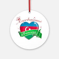 Azerbaijani Princess Ornament (Round)