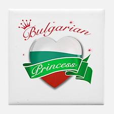 Bulgarian Princess Tile Coaster