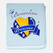 Bosnian Princess baby blanket