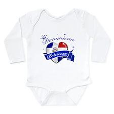 Dominican Princess Long Sleeve Infant Bodysuit