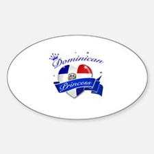 Dominican Princess Decal