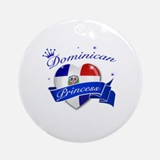 Dominican Princess Ornament (Round)