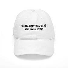 Geography Teachers: Better Lo Baseball Cap