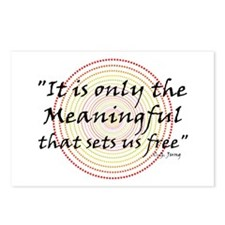 Only the meaningful sets us free - Postcards (Pack