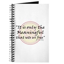 Only the meaningful sets us free - Journal