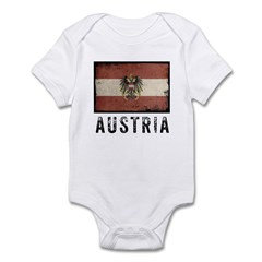 Vintage Austria Infant Bodysuit
