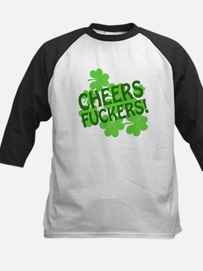 Cheers Fuckers Kids Baseball Jersey