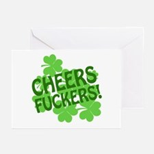 Cheers Fuckers Greeting Cards (Pk of 10)