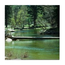 Yosemite River Tile Coaster