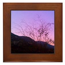 Tree Set Framed Tile