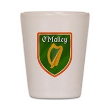 O'Malley Family Crest Shot Glass
