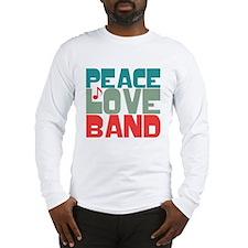 Peace Love Band Long Sleeve T-Shirt