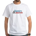 Henry and Aaron White T-Shirt