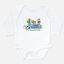 Little Vegans Long Sleeve Infant Bodysuit