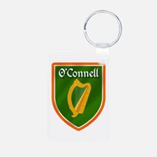 O'Connell Family Crest Aluminum Photo Keychain