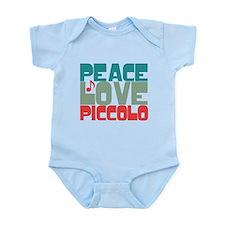 Peace Love Piccolo Infant Bodysuit
