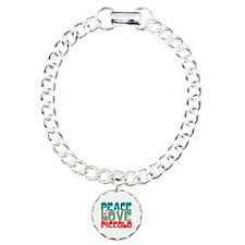 Peace Love Piccolo Bracelet