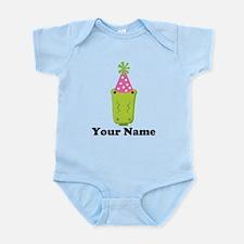 Personalized Birthday Crocodile Infant Bodysuit