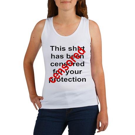 censored - Women's Tank Top