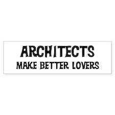 Architects: Better Lovers Bumper Bumper Sticker