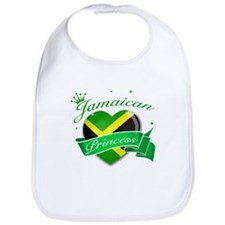 Jamaican Princess Bib