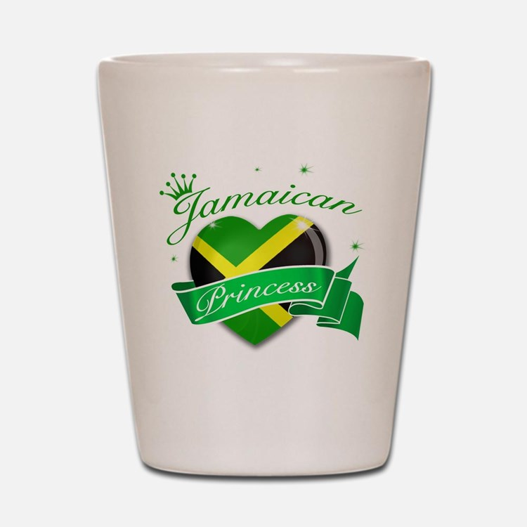 Jamaican Princess Shot Glass