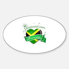 Jamaican Princess Decal