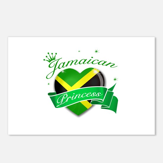 Jamaican Princess Postcards (Package of 8)