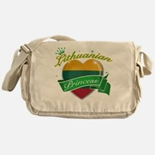Lithuanian Princess Messenger Bag