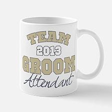 Team Groom 2013 Attendant Mug
