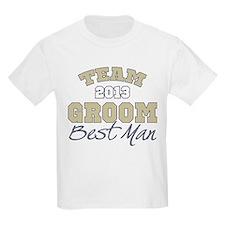 Team Groom 2013 Best Man T-Shirt
