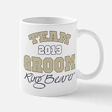 Team Groom 2013 Ring Bearer Mug