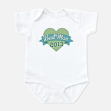 Heart Best Man 2013 Infant Bodysuit