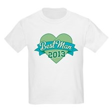 Heart Best Man 2013 T-Shirt