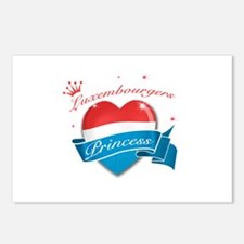 Luxembourgers Princess Postcards (Package of 8)