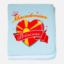 Macedonian Princess baby blanket