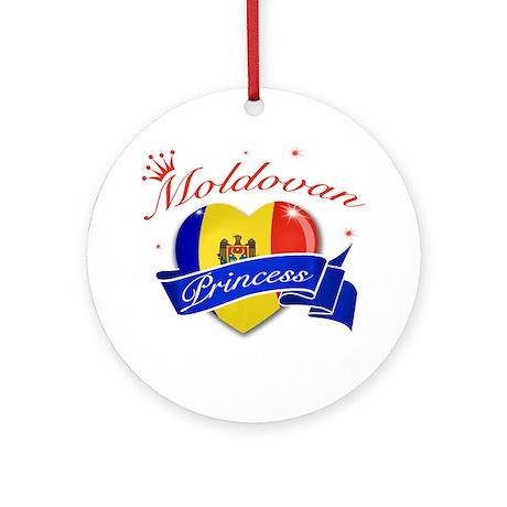 Moldovan Princess Ornament (Round)