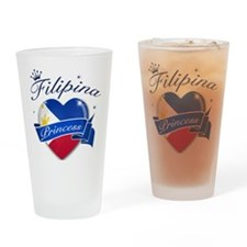 Filipino Princess Drinking Glass