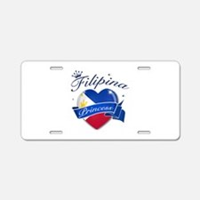 Filipino Princess Aluminum License Plate