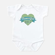 Heart Flower Girl 2013 Infant Bodysuit