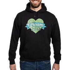 Heart Groom 2013 Hoodie