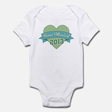 Heart Honor Attendant 2013 Infant Bodysuit