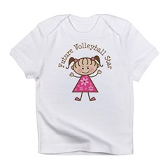 Future Volleyball Star Infant T-Shirt