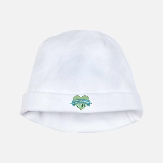 Heart Junior Bridesmaid 2013 baby hat
